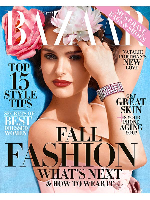 Natalie Portman Covers Bazaar