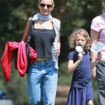 Nicole Richie Visits Children Museum With her Kids