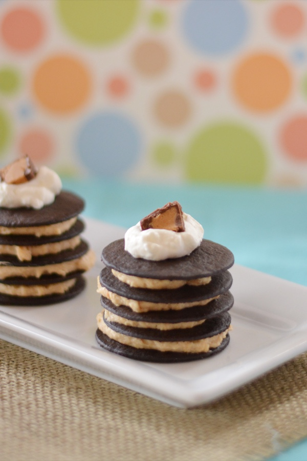 Mini Peanut Butter Chocolate Icebox Cakes | Celeb Baby Laundry