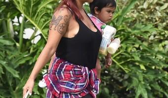 Nicole 'Snooki' Polizzi Vacations With Family in Vero Beach