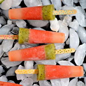 Refreshing Watermelon Kiwi Ice Pops