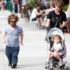 Peter Dinklage & Family Go For A Stroll In New York