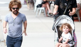 'Game of Thrones' Star Peter Dinklage's New York Stroll with Wife Erica and Daughter Zelig