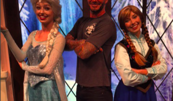 David Beckham, Victoria Beckham and The Beckham Kids Spend The Day At Disneyland