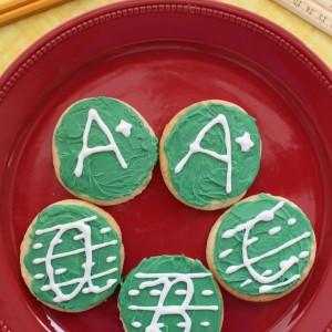 Back-to-School ABC Handwriting Cookies