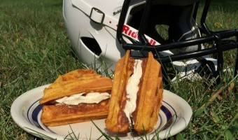 Pumpkin Waffle Sandwiches – Healthy Breakfast to Fuel Your Little Athlete