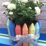 Back-To-School DIY Teacher's Gift Chalk Plant
