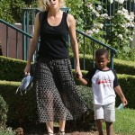 Charlize Theron's Son Lets Everyone Know he is a Big Brother