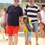 Elton John & David Furnish Enjoy Yearly Saint Tropez Family Vacation