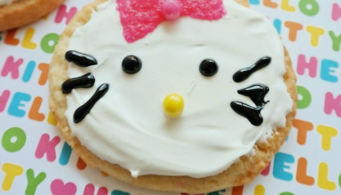 Hello Kitty Sugar Cookies: The Perfect Treat For Kids & Themed Parties