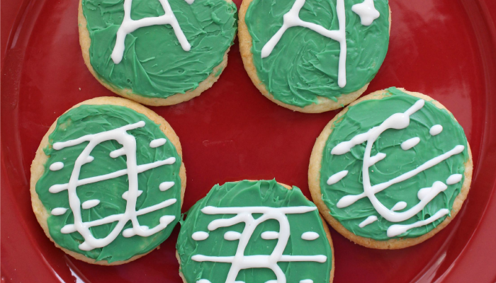 Back-to-School ABC Handwriting Cookies