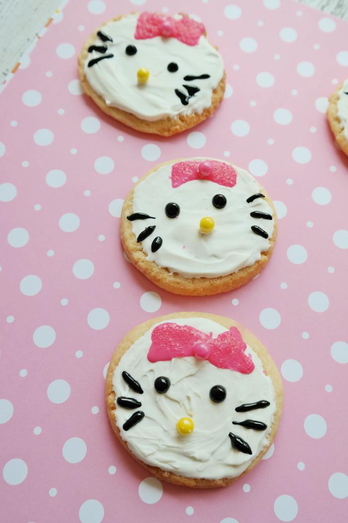 Hello Kitty Sugar Cookies