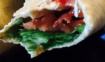 Skinny BLT Sandwich Wraps – Healthy and Delicious Post-Baby Body Meal