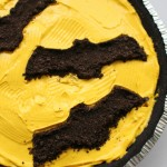 Oreo Bat Cheese Cake For Halloween