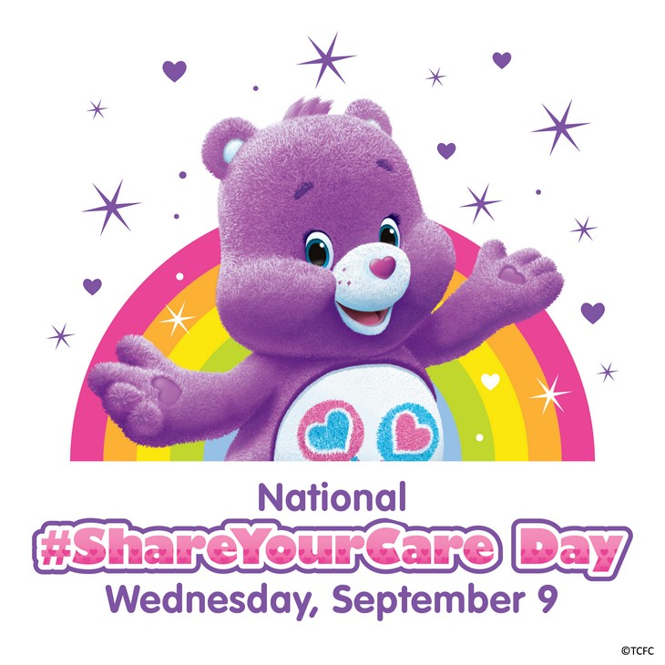 National Care Bears #ShareYourCare Day - Share the Gift of Kindness With Kids 2