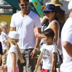 Brooke Burke-Charvet Spends Labor Day at the Malibu Fair