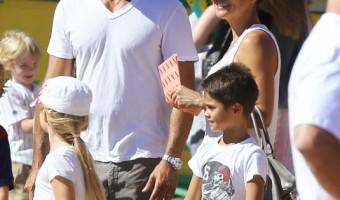 Brooke Burke-Charvet Spends Labor Day at the Malibu Fair
