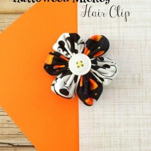 Halloween Mickey Hair Clip