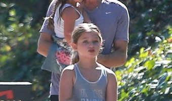 Jason Bateman Hikes With Family