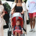 Jessica Alba Strolls in New York City With Haven