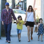 Johnny Knoxville Enjoys Ice Cream With his Family