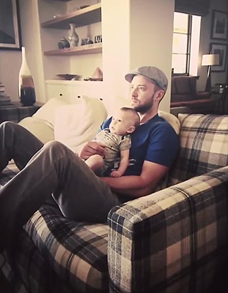 Justin Timberlake  amp  Son SilasJustin Timberlake Son