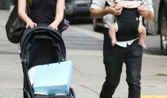 Keira Knightley & James Righton Go For A Family Walk
