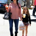 Kyle Richards Spends Time With Portia