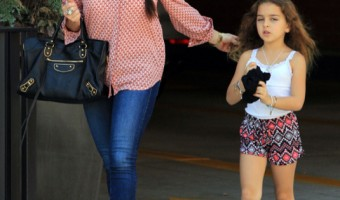 Kyle Richards & Daughter Portia Out For Lunch In Beverly Hills