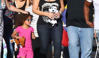 Mariah Carey Enjoying A Day At The Fair In Malibu
