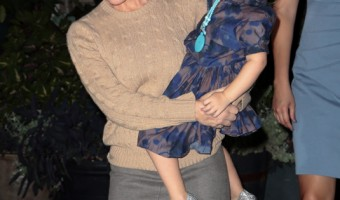 Tracy Anderson Takes Daughter Out for a Night on the Town
