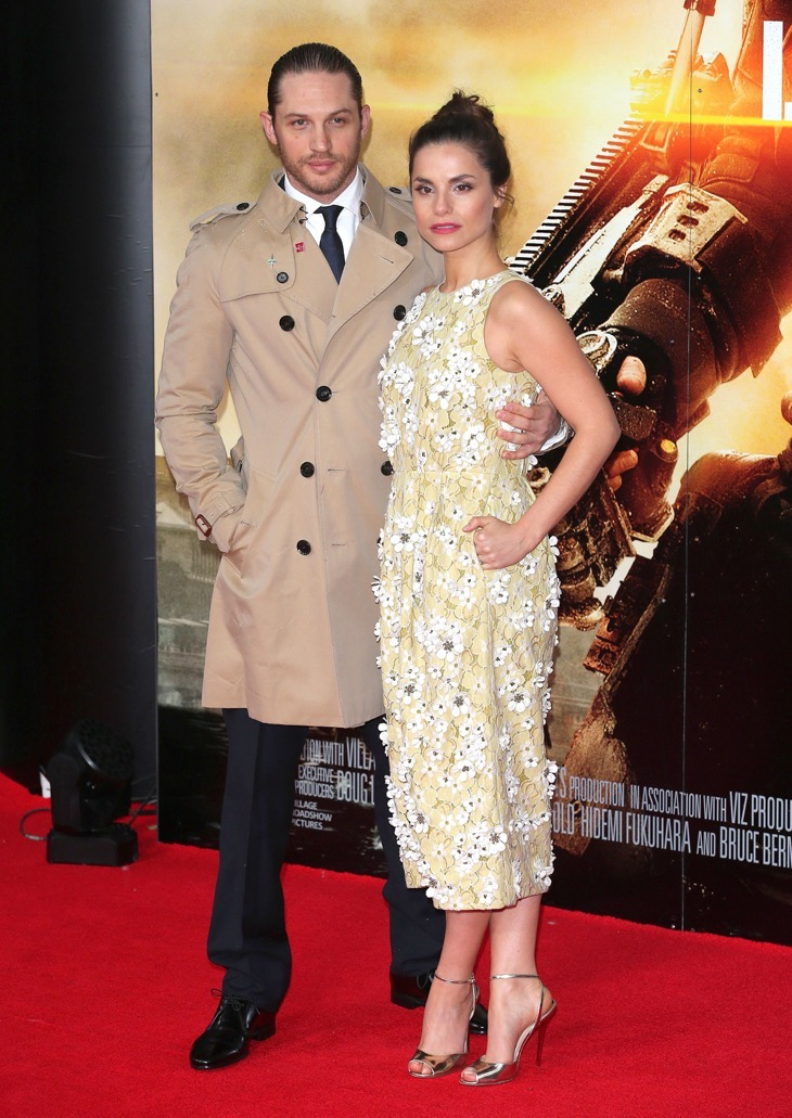 'Dark Knight Rises' Actor Tom Hardy And Wife Charlotte Riley Welcome Baby Number One!
