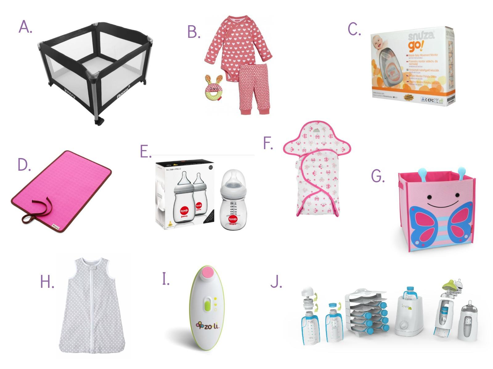 Gift Registry Guide For Expectant Moms