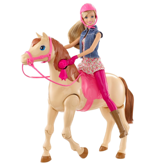 Barbie Saddle N' Ride Horse
