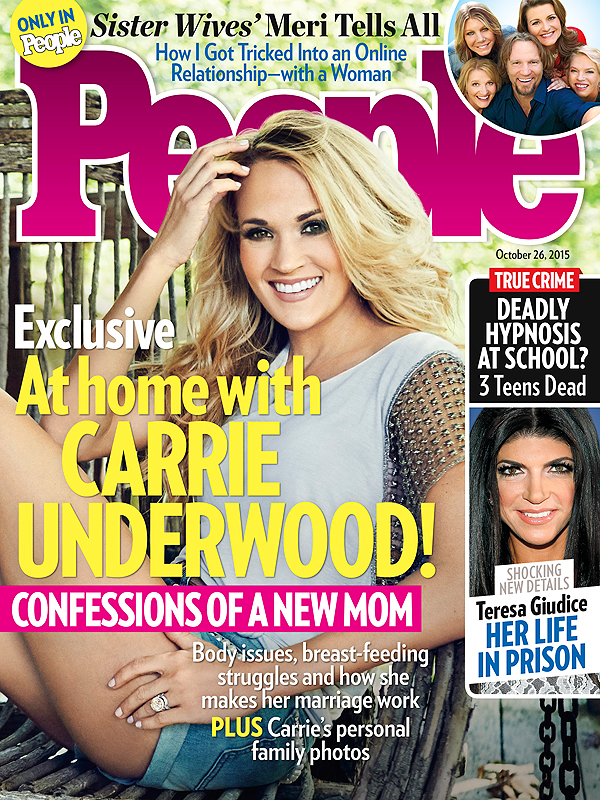 Carrie Underwood Covers People