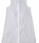 Just Born Gray Polka Dot Wear-A-Blanket