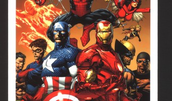 Giveaway: Choice Collectibles Marvel Art Piece – Enforcers (Holiday Gift Guide)