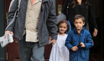 Matthew McConaughey Has a Family Day in NYC