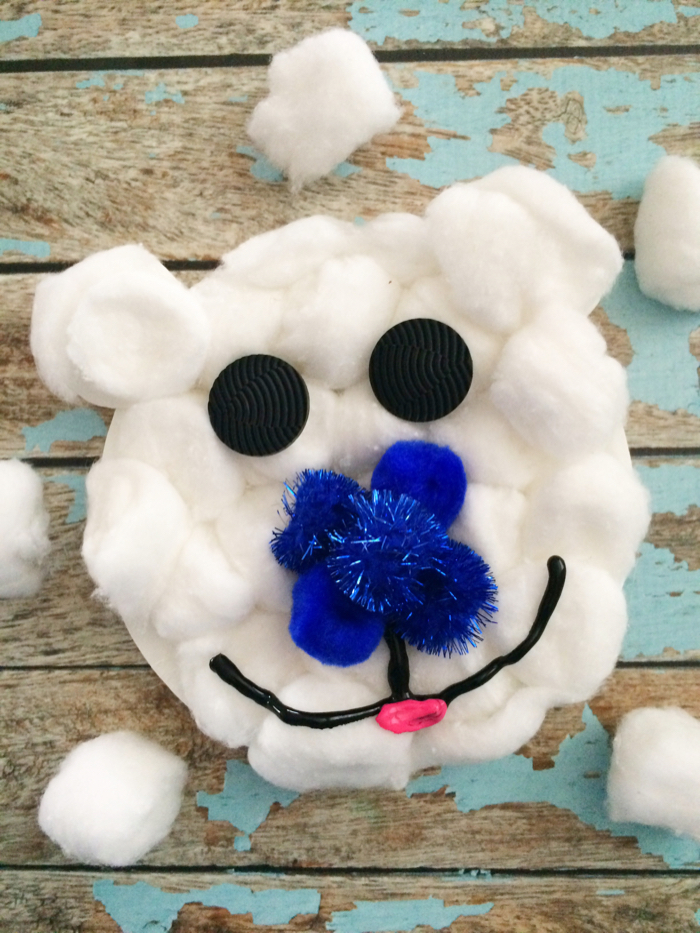 Celebrate the Cold Weather: Polar Bear Craft For Kids