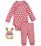 Skip Hop POP PRINTS 3-piece baby gift set