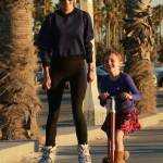 Alessandra Ambrosio: Family Funday in Santa Monica