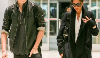 Victoria Beckham and Brooklyn Beckham Fly Home In Style – See Brooklyn All Grown Up!
