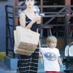Alessandra Ambrosio Spends the Day With Noah