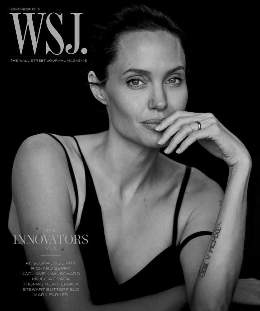 Angelina Jolie Covers WSJ