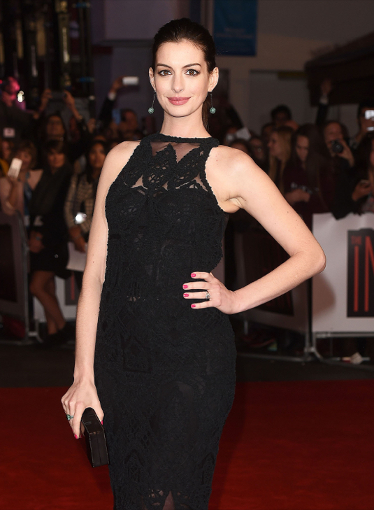 Anne Hathaway - The Intern Premiere