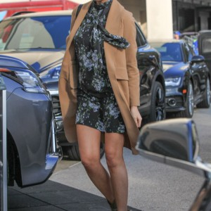 Chrissy Teigen Out And About In Los Angeles