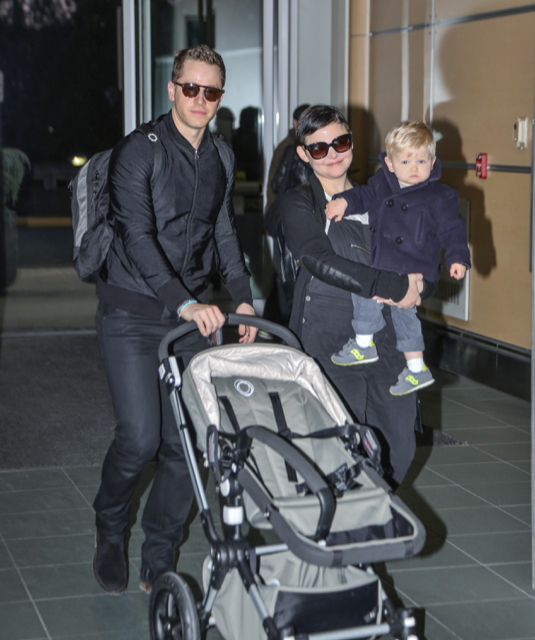 Exclusive... Actress Ginnifer Goodwin Spotted With Her Son