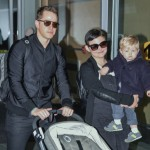 Ginnifer Goodwin & Family Touch Down in Vancouver