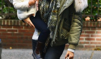 Gisele Bundchen Bundles Up With Vivian in NYC