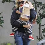 Gwen Stefani Spends Thanksgiving at her Parents House
